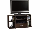 "Sauder Beginnings Panel 42"" TV Stand Cinnamon Cherry"