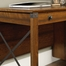 Sauder Carson Forge Home Office Desk Washington Cherry