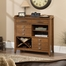 Sauder Carson Forge Sideboard Washington Cherry