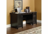 Sauder Edge Water Computer Desk Estate Black