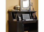 Sauder Edge Water Hutch for Desk 408558 Estate Black