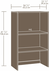 Sauder Hanover Closets Base Unit Oiled Oak