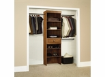 Sauder Hanover Closets Wide Starter Kit Oiled Oak