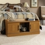 Sauder Homeplus Storage Bench Sienna Oak