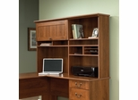 Sauder Hutch for L Shaped Desk 412750 Shaker Cherry