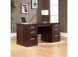 Sauder Office Port Executive Desk Dark Alder
