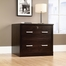 Sauder Office Port File Cabinet Dark Alder