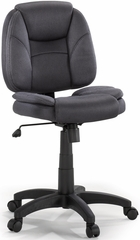Sauder Padded Cushion Task Chair AirSeat Gray Fabric