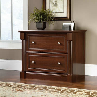Sauder Palladia 2 Drawer Lateral File Select Cherry