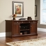 Sauder Palladia Credenza with Slide Out Top Select Cherry
