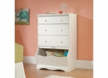 Sauder Pogo 3-Drawer Chest Soft White