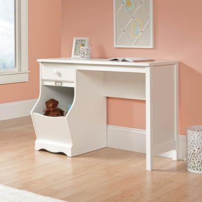Sauder Pogo Kids Writing Desk Soft White