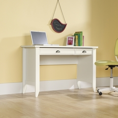 Sauder Shoal Creek Computer Desk Soft White