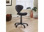 Sauder Studio Select Deluxe Black Fabric Task Chair