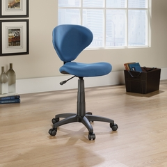 Sauder Studio Select Deluxe Blue Fabric Task Chair