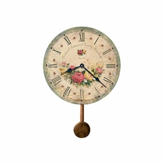 Savannah Botanical Society VI Wall Clock - Howard Miller