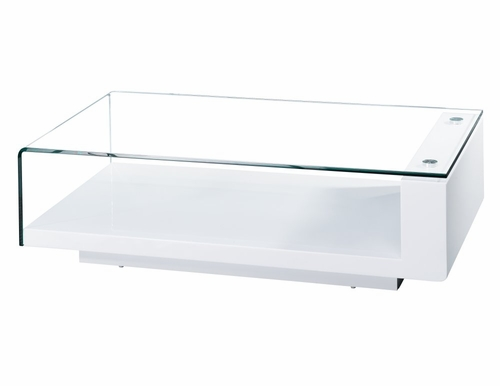 Scala Coffee Table - Bellini Modern Living - SCALA-WHT