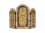 Scarberry Fireplace Screen - Dale Tiffany