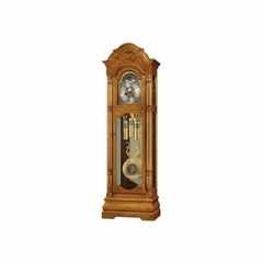 Scarborough Grandfather Clock in Legacy Oak - Howard Miller