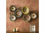 Scattered Italian Plates Wall Art - Holly and Martin
