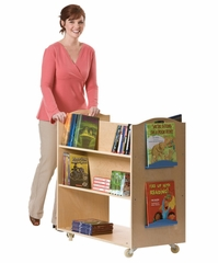 School Library Cart - Guidecraft - G6412