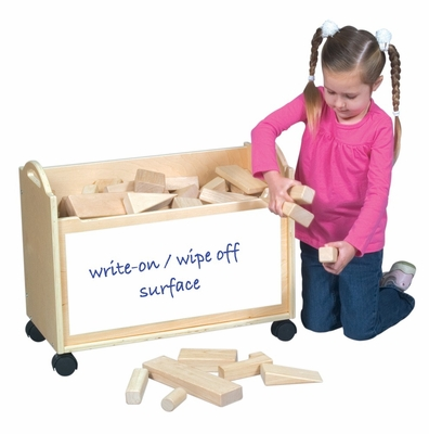 School Supply Block Cart - Guidecraft - G97056