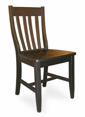Schoolhouse Chair (Set of 2) in Black - C46-61P