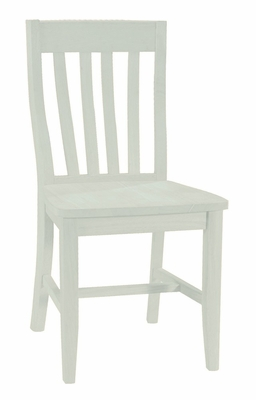 Schoolhouse Chair (Set of 2) in Linen White - C31-61P