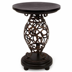 Scroll Base Occasional Table - IMAX - 1295