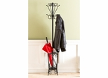Scrolled Coat Rack and Umbrella Stand - Holly and Martin