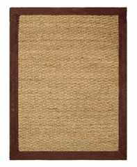 "Seagrass Area Rug in Chocolate - 40"" x 60"" - 11761"