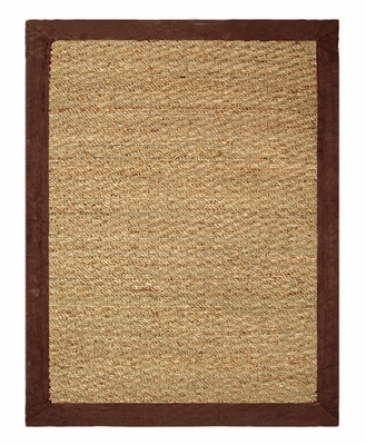 Seagrass Area Rug in Chocolate - 5' x 7' - 11764