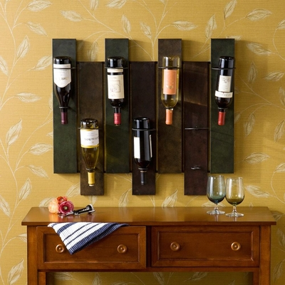 Seaton Wall Mount Wine Rack - Holly & Martin