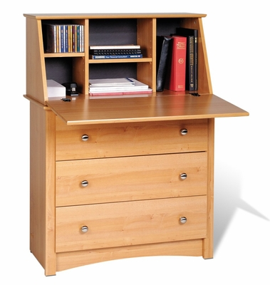 Secretary Desk in Maple - Sonoma Collection - Prepac Furniture - MSD-3344