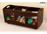 See Thru Bins in Espresso - KidKraft Furniture - 15768