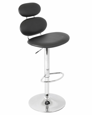 Segment Barstool Black - LumiSource - BS-TW-SGMNT-BK