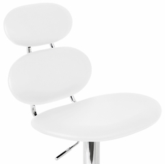 Segment Barstool White - LumiSource - BS-TW-SGMNT-W