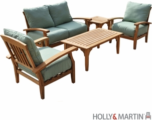 SEI 5 Pcs Deep Seating Sofa Set