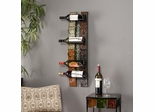 SEI Adriano Wall-Mount Wine Storage