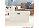 SEI Aspen Cocktail Table Trunk - White