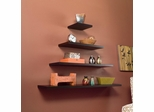 "SEI Aspen Floating Shelf 10"" Espresso"