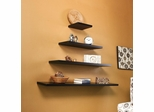 "SEI Aspen Floating Shelf 36"" Black"