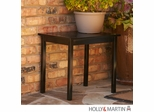SEI Black End Table
