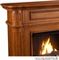 SEI Brantley Gel Fuel Fireplace - Walnut