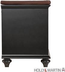 SEI Chelmsford Entryway Bench - Black