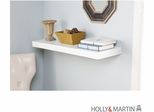 "SEI Chicago Floating Shelf 36"" White"