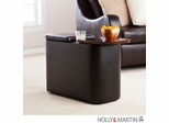 SEI Entertainment Companion Table - Black