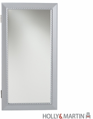 SEI Geneva Wall Mount Jewelry Mirror