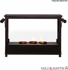 SEI Layton Portable Indoor/Outdoor Fireplace