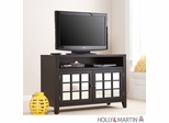 SEI Marston TV/Media Stand - Black